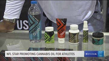 NFL star promotes cannabis oil for athletes
