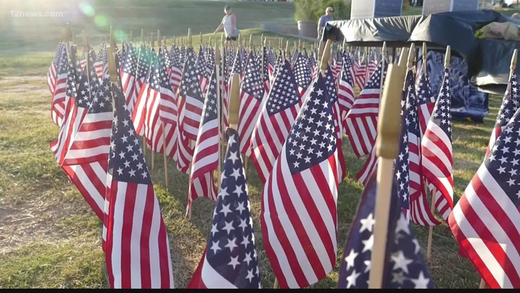 Ceremonies across the Valle on the 20th years anniversary of 9/11