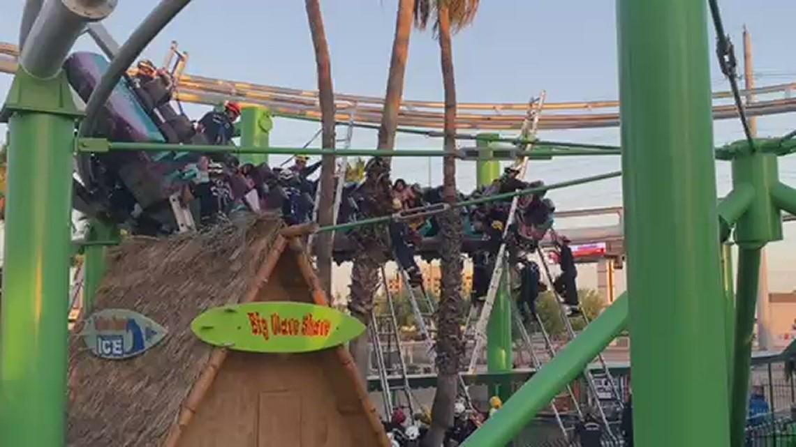 Roller coaster rescue
