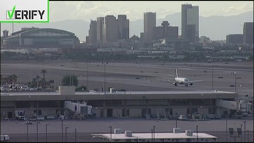 Verify: Will tourists be stranded if Uber and Lyft leave Sky Harbor Airport?