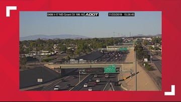 Police incident leads to temporary closure of Interstate 17 in downtown Phoenix