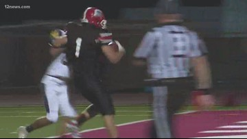 Paradise Valley beats Flowing Wells 63-30