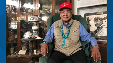 The Navajo weapon: Code Talker remembers WWII