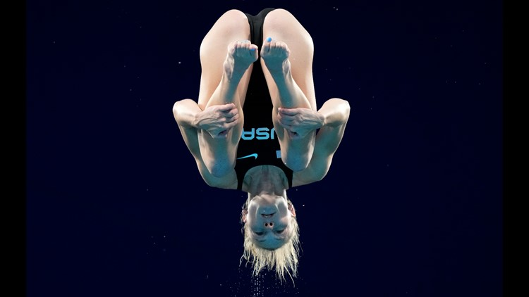 Tucson Olympian Delaney Schnell diving towards another medal in Tokyo