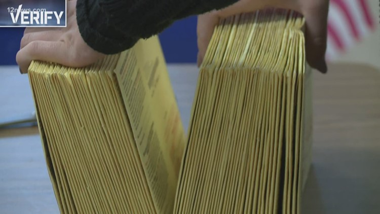 VERIFY: Counting mail-in ballots versus in person voting
