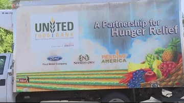1,412 pounds of food donated to Summer of a Million Meals