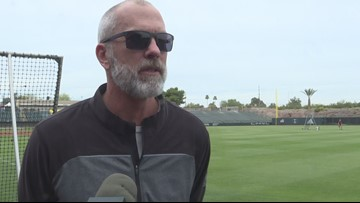 Arizona State baseball coach Tracy Smith talks about upcoming series vs. Arizona