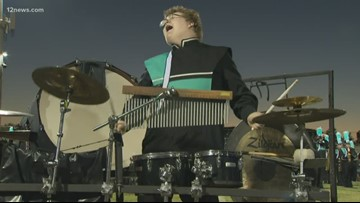 Highland HS drummer going viral for his passionate performance