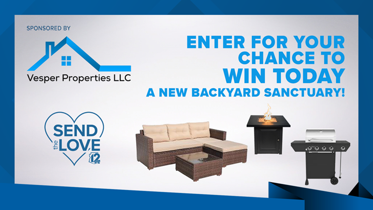 CONTEST ENDED:  Vesper Properties Send The Love Backyard Sanctuary