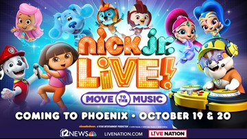 TODAY IN AZ NICK JR LIVE SWEEPSTAKES
