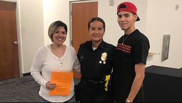 Mother and son train for police academy together