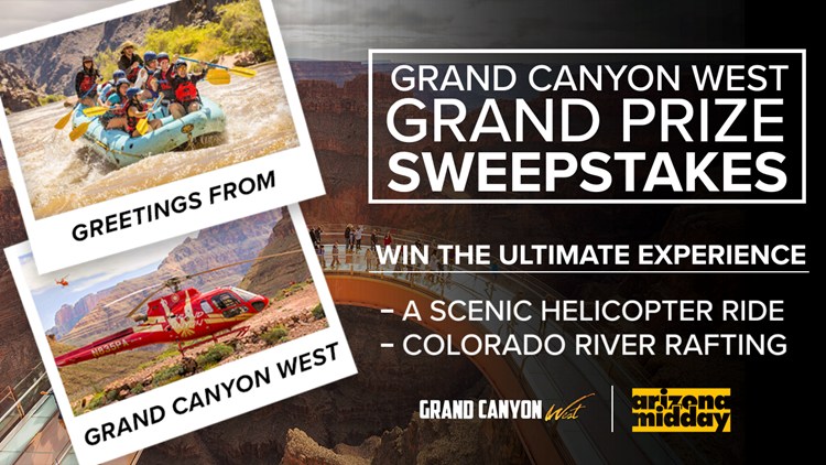 CONTEST ENDED:  GRAND CANYON SWEEPSTAKES