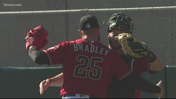 Optimism in the air as D-backs return to Salt River Fields for first day of Spring Training 2020