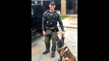 Meet the newest K9 working one of the busiest drug corridors in the country