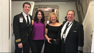 'You always want your last flight to be memorable.' | Pilot chooses SMF to PHX route as his final flight