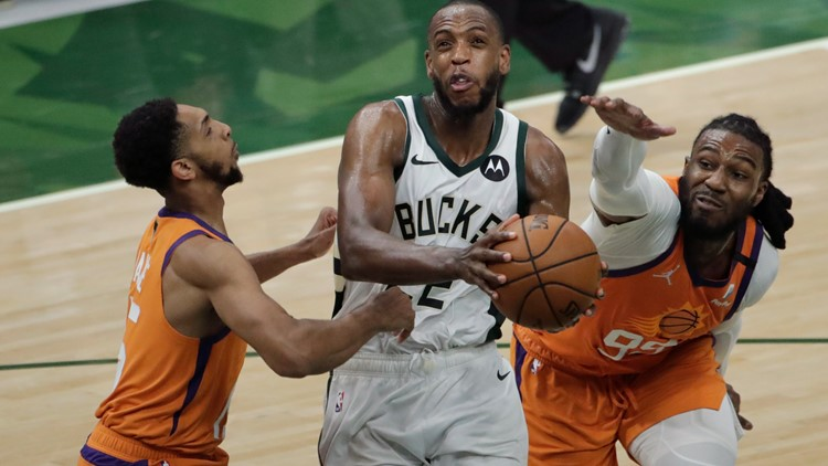 Bucks gut out 109-103 win over Phoenix to even up NBA Finals 2-2