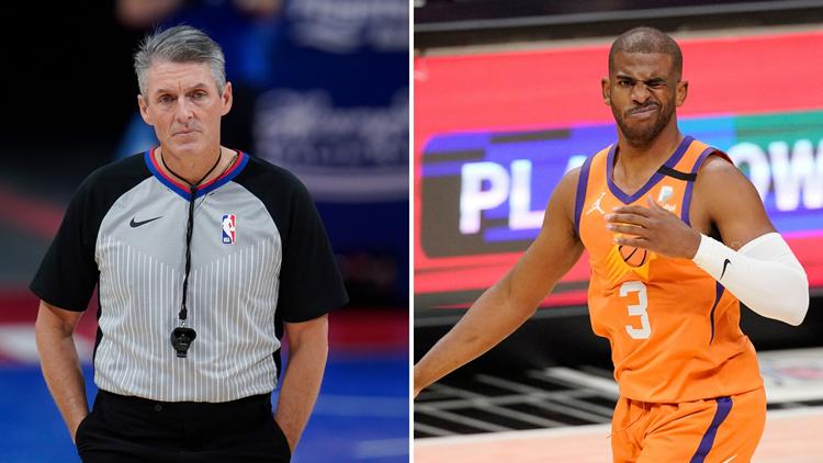 Twitter reacts to Scott Foster officiating Bucks-Suns NBA Finals Game 6