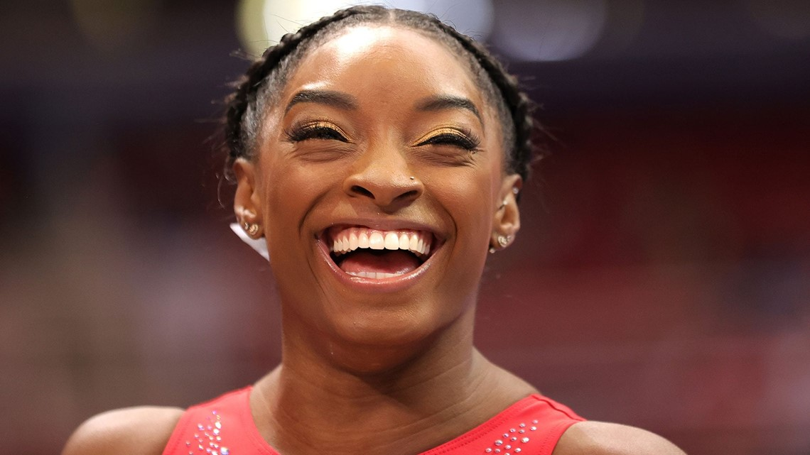 Watch the best of Simone Biles before she competes on beam at the Tokyo Olympics