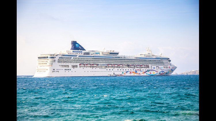 Norwegian Cruise Line is famous for its large ships. (Photo courtesy of Tatiana Dyuvbanova/ Shutterstock.com)