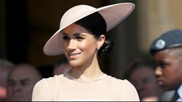 PHOTOS: Meghan Markle steps out for the first time as an official royal!
