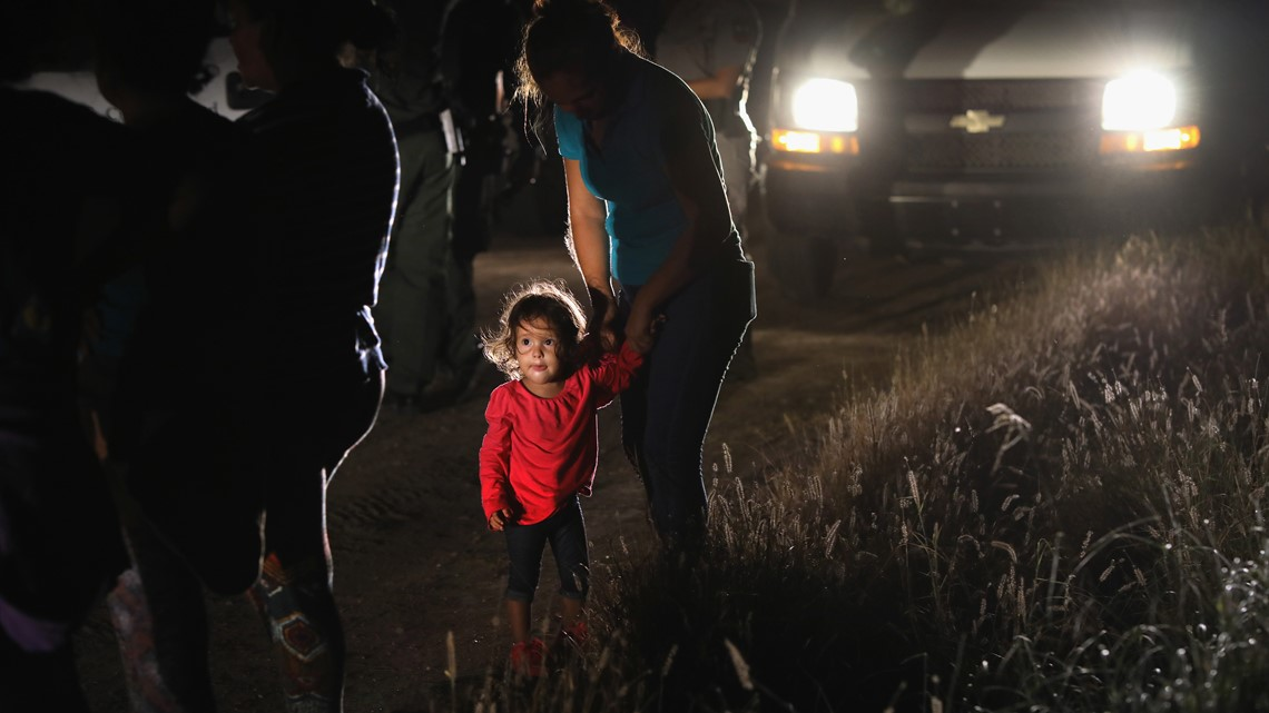 Crying for 'Mami' and 'Papá' at a Border Patrol detention center
