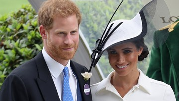 Duchess Meghan makes Royal Ascot debut in dress from go-to label Givenchy