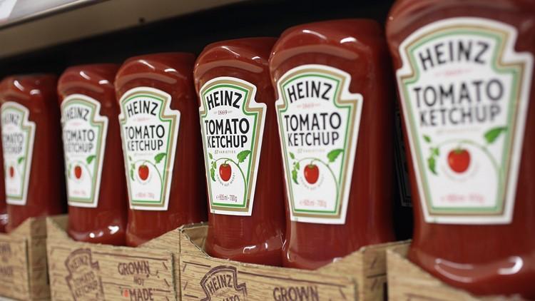 Heinz Ketchup bottles