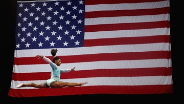Simone Biles sweeps all-around, event titles at U.S. Gymnastics Championships