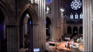 After Trump blasts McCain, takes credit for funeral, National Cathedral points out he had nothing to do with it