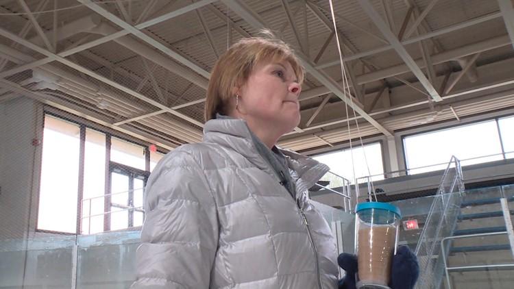 Heidi Krueger, mother of speed skater John-Henry Krueger, has taught figure skating for the last 30 years on the same rink that her mother helped build.