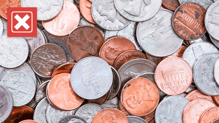 No, there is not a coin shortage in the US but there is a circulation problem