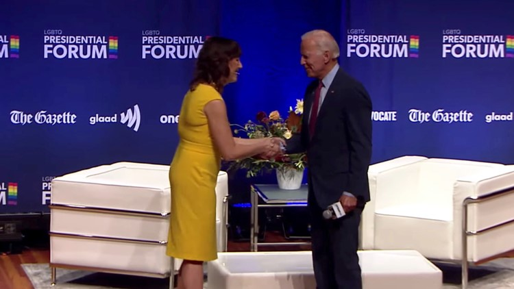 'A Real Sweetheart': Biden Accused of Making Condescending Remark to LGBTQ Presidential Forum Moderator