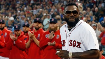 Watch David Ortiz return to Fenway, throw out 1st pitch