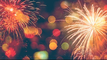 Where to find New Year's Eve fireworks displays