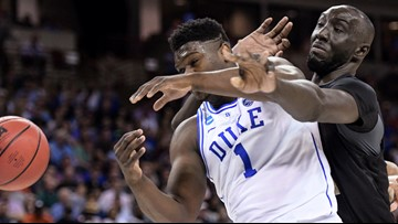Duke wins by a rim against UCF: 77-76