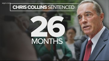 Former New York Congressman Chris Collins sentenced to 26 months in prison