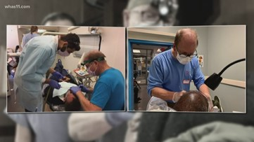 Louisville dentist offers free services to homeless, low-income families
