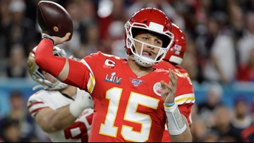 Watch: Patrick Mahomes finds Damien Williams for game-winning touchdown in Super Bowl LIV