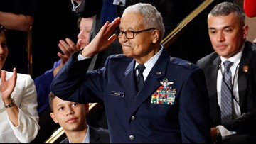 100-year-old Tuskegee Airman honored at State of the Union