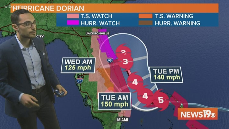 Hurricane Dorian update: storm has almost stop moving over the Bahamas
