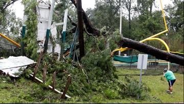 Dorian brings damage, heavy rain to South Carolina coast