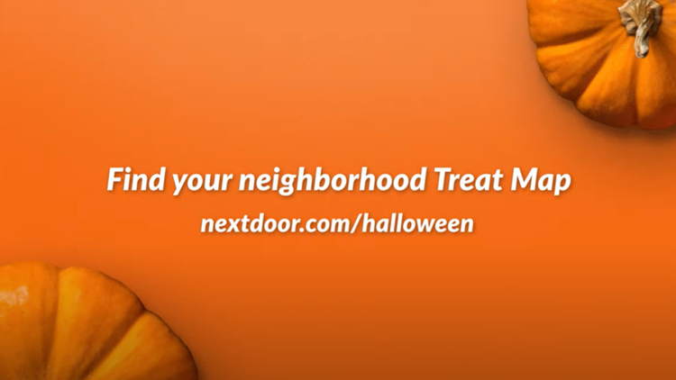 Nextdoor launches Halloween treat map for candy, decorations