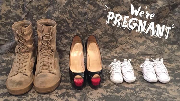 Military pregnancy announcement