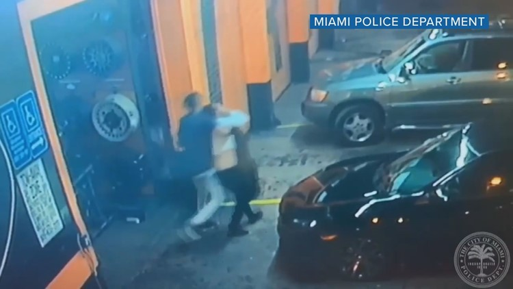 Miami police: Woman's abduction caught on disturbing video