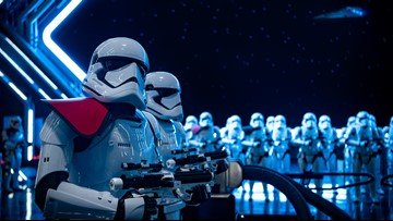 Immersive 'Rise of the Resistance' ride puts you in the middle of epic 'Star Wars' battle
