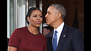 Internet goes head over heels for Michelle Obama's side-eye