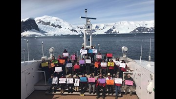 There's even a Women's March in Antarctica