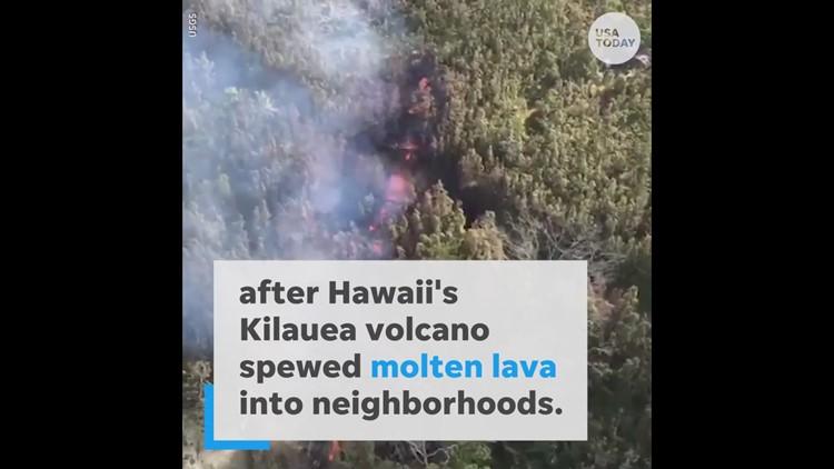 Hawaii's Kilauea volcano erupts, hundreds evacuate