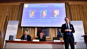 Nobel Prize in economics winner thought message was a scam at first