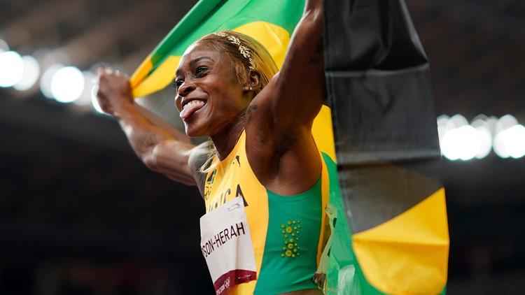 Elaine Thompson-Herah beats Flo Jo's 100 meters track record; Ledecky, Dressel star for US